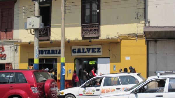 Notaría Galvez