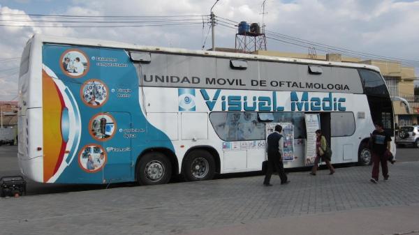Unidad Movil Oftalmológica