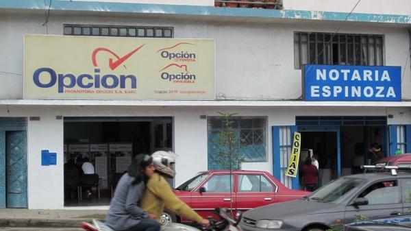 Promotora Opcion y Notaria Espinoza