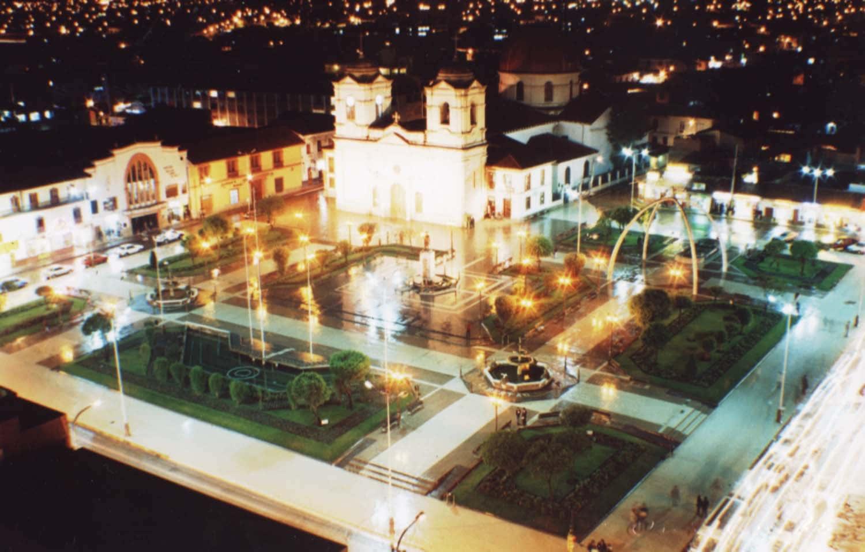 Huancayo de noche