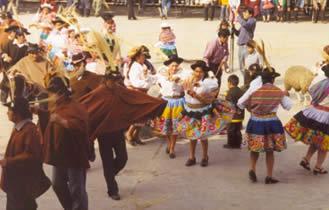 danza huancayo el santiago