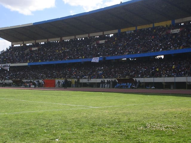 Tribunas del estadio Huancayo