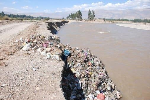 Contaminación del Río Mantaro