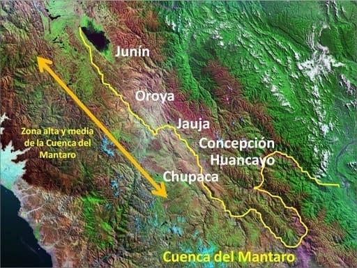 Cuencia del Río Mantaro