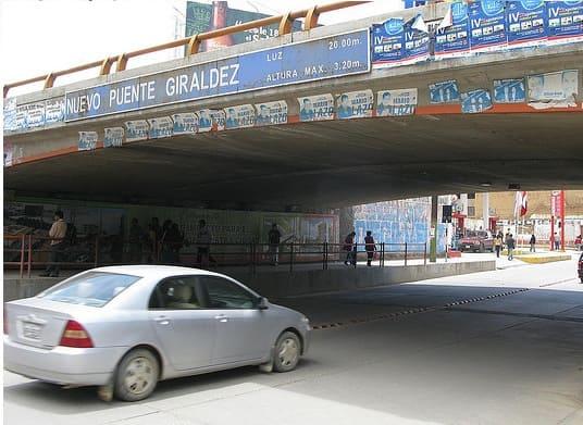 Puente Giraldez de Huancayo