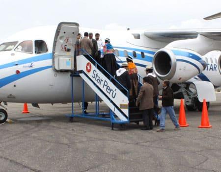 Avión Star Perú Jauja Lima Valle del Mantaro