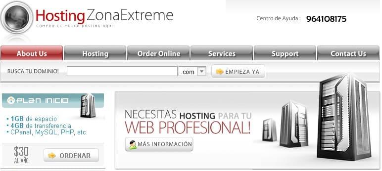 Hosting y diseño web en Huancayo
